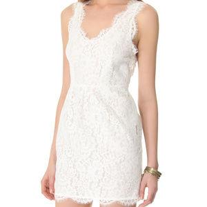 Joie Rori White Lace Dress size xs LWD mini